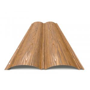Блок-хаус «Бревно» Sutor 0,4 ZN80 Дерево 3D