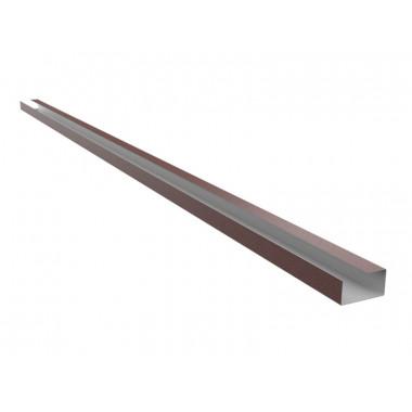 Герметизирующая планка конька Оptima Steel 0,45 ZN100 PEMA