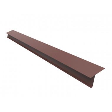 Капельник для фальцевой кровли Оptima Steel 0,45 ZN100 PEMA