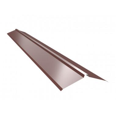 Конек для фальцевой кровли Оptima Steel 0,45 ZN100 Polyester