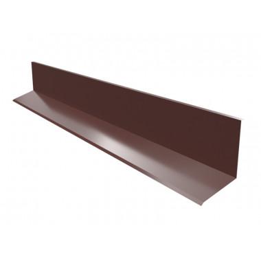 Примыкание поперечное для фальцевой кровли Оptima Steel 0,5 ZN100 Polyester