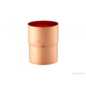 Соединитель трубы Zambelli 130/80 медь