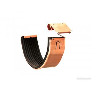 Соединитель желоба с трубкой Zambelli 130/80 медь