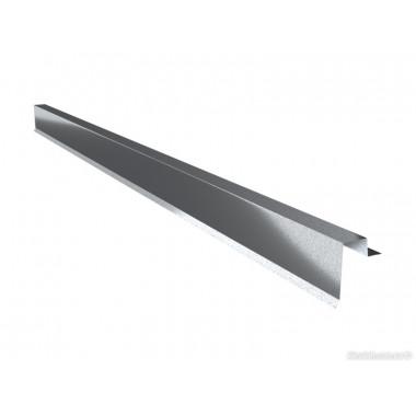 Торцевая планка для фальцевой кровли Arcelor 0,5 AlZn150 Алюмоцинк