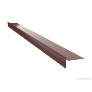Ветровая планка для битумной черепицы Arcelor (Германия) 0,5 ZN225 Polyester
