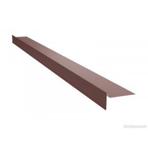 Ветровая планка для битумной черепицы U.S.Steel 0,45 ZN140 PEMA
