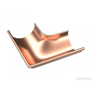 Внешний угол 90° Zambelli 130/80 медь