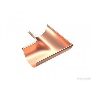 Внутренний угол 90° Zambelli 130/80 медь