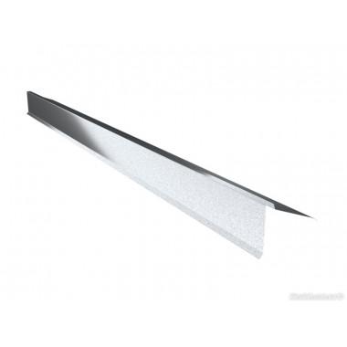 Защита карниза верхняя (полуконек) Arcelor 0,5 AlZn150 Алюмоцинк
