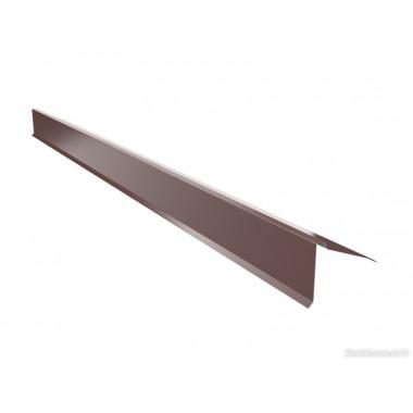 Защита карниза верхняя (полуконек) U.S.Steel 0,45 ZN140 Polyester